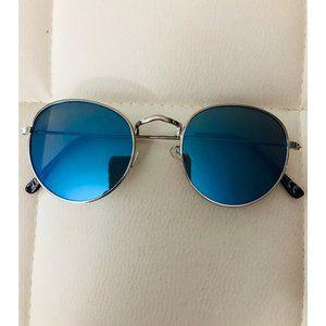 H&M Round fame Blue Sunglasses